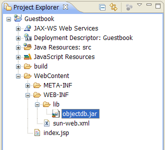 Eclipse JPA Tutorial - Create a Java EE 6 (J2EE) Web Project